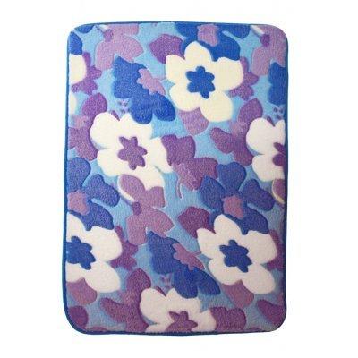 Χαλάκι - Microfiber - Αφροδίτη - Λουλούδια - 45 x 70 cm