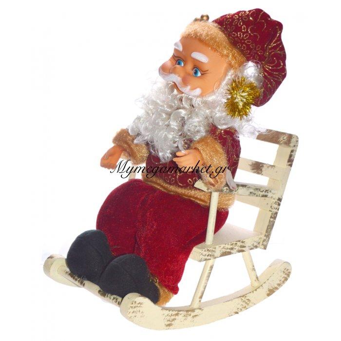 Άγιος Βασίλης σε πολυθρόνα με κίνηση & τραγούδια | Mymegamarket.gr