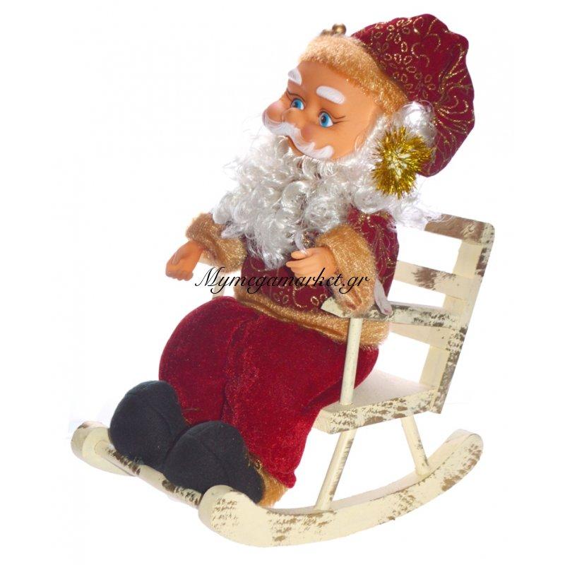 Άγιος Βασίλης σε πολυθρόνα με κίνηση & τραγούδια
