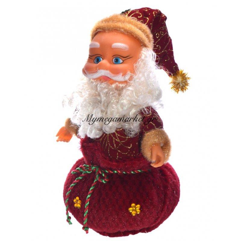 Άγιος Βασίλης σε πουγκί που στριφογυρίζει 360°