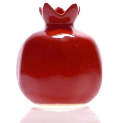 Ρόδι κεραμικό σε κόκκινο χρώμα