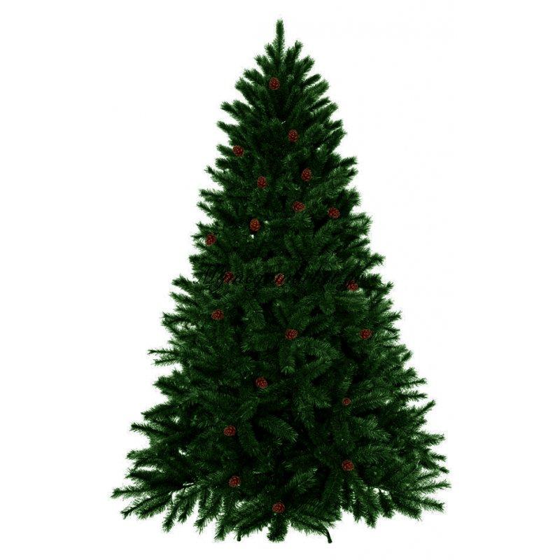Δέντρο χριστουγεννιάτικο πράσινο με κουκουνάρι Forest 240 cm