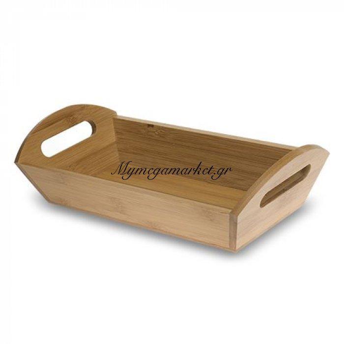 Ψωμιέρα ξύλινη bamboo - Nava | Mymegamarket.gr