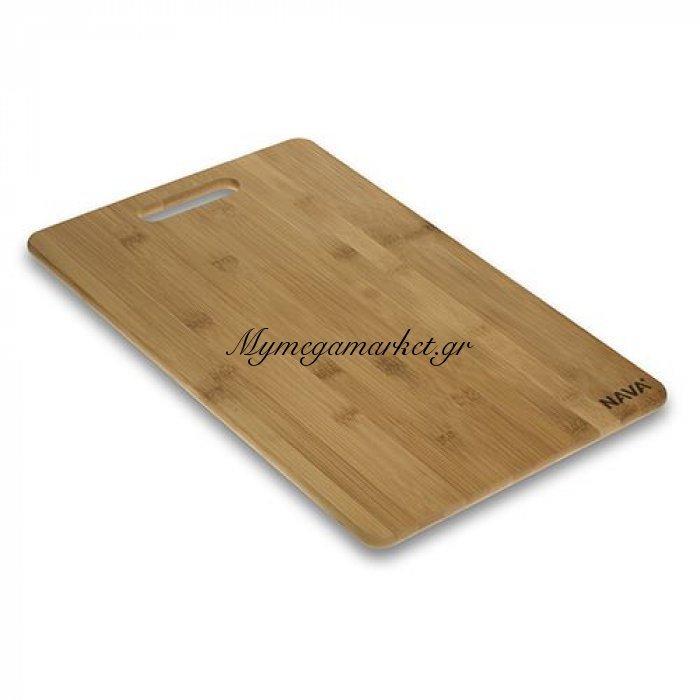 Ξύλινη επιφάνεια κοπής bamboo No 35 - Nava