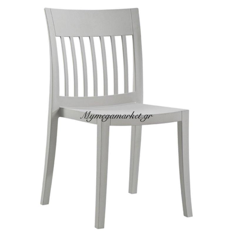 Καρέκλα Eden - S  Γκρι Ανοιχτό