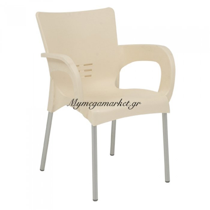 Πολυθρόνα Venia Κρεμ | Mymegamarket.gr
