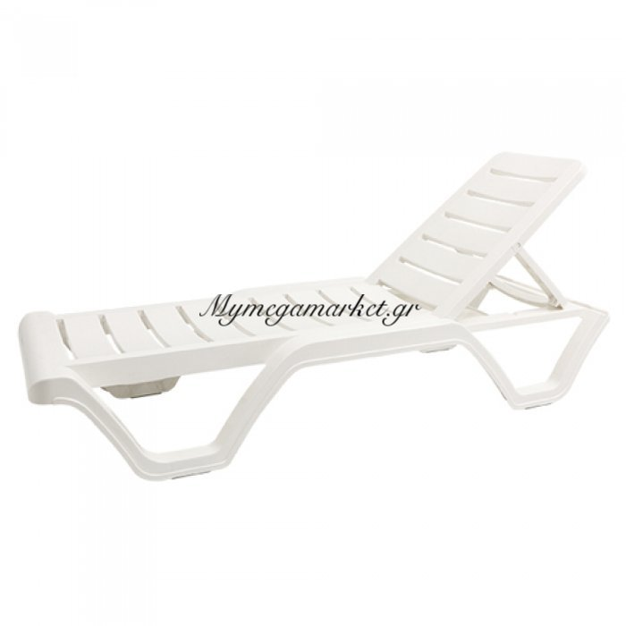 Ξαπλώστρα πλαστική Lara με ρυθμιζόμενη πλάτη | Mymegamarket.gr