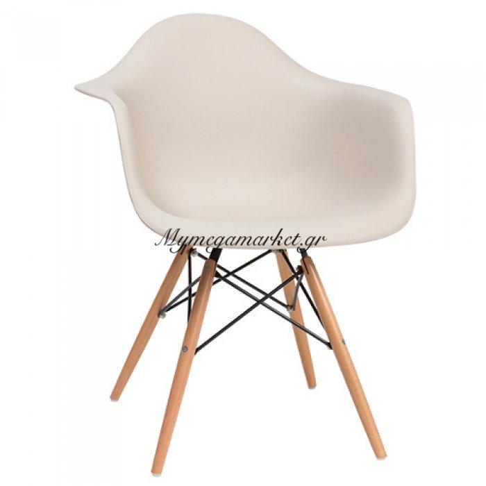 Πολυθρόνα Quadra-Wood Μόκα Pp   Mymegamarket.gr