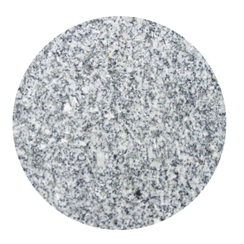 Επιφάνεια τραπεζιού Γρανίτη σε χρώμα λευκό-γκρί Φ60