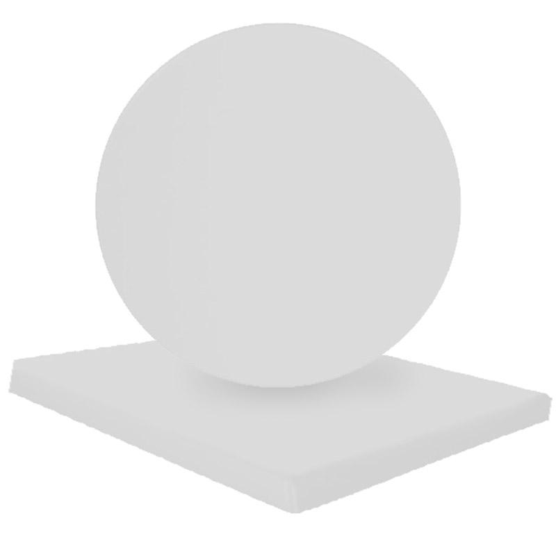 Eπιφάνεια τραπεζιού Normal απο Βερσαλίτη σε χρώμα Iso λευκό 80x80 Στην κατηγορία Επιφάνειες - Βάσεις τραπεζιού | Mymegamarket.gr