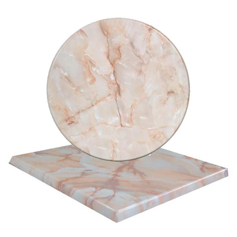Επιφάνεια τραπεζιού Normal απο Βερσαλίτη σε χρώμα Iso όνυχας Φ70