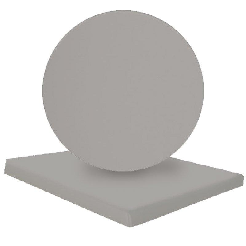 Eπιφάνεια τραπεζιού Normal απο Βερσαλίτη σε χρώμα Iso silver 80x80