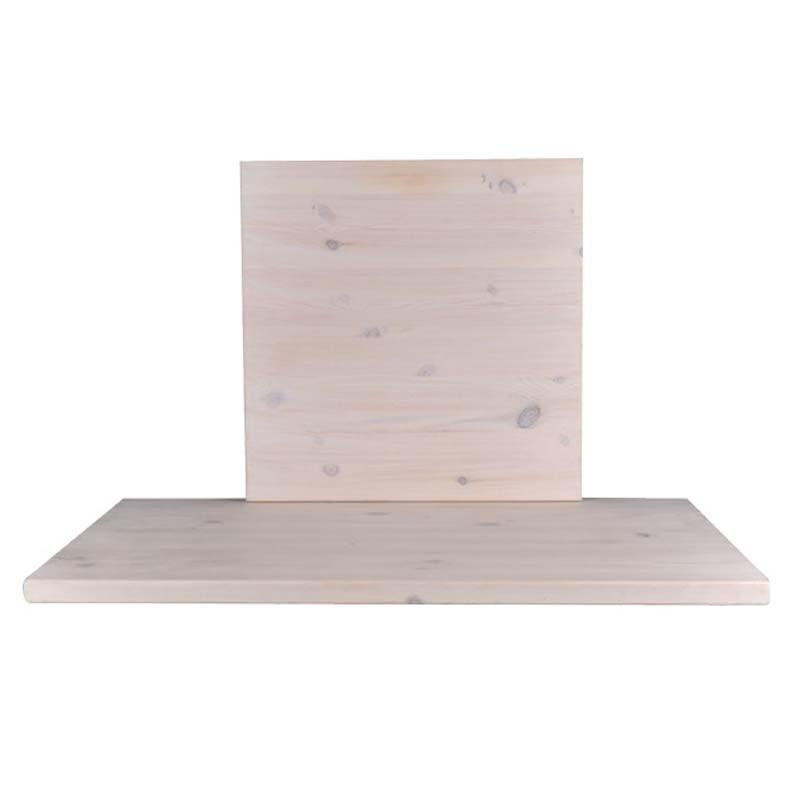 Pine Καπάκι 70X70/4Cm, Καρυδί (Ξύλο Πεύκου)
