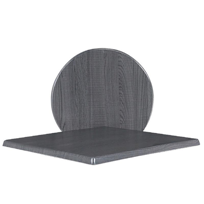 Eπιφάνεια τραπεζιού Plus surface απο Βερσαλίτη σε χρώμα Dark oak 60x60