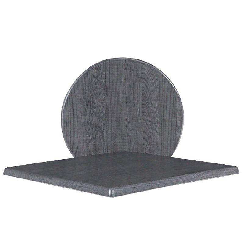 Eπιφάνεια τραπεζιού Plus surface απο Βερσαλίτη σε χρώμα Dark oak Φ70