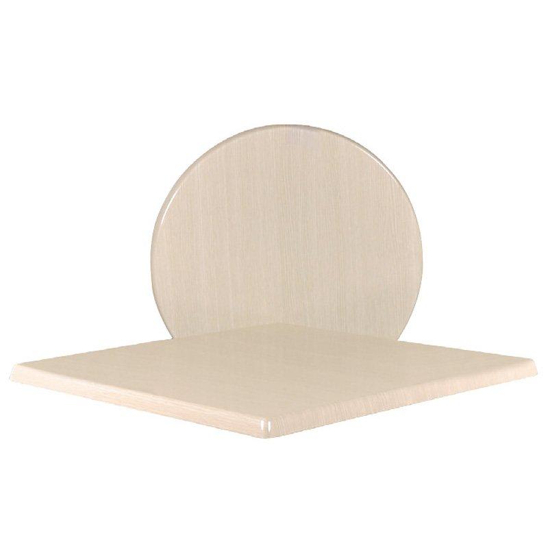 Eπιφάνεια τραπεζιού Plus surface απο Βερσαλίτη σε χρώμα Washed oak Φ60