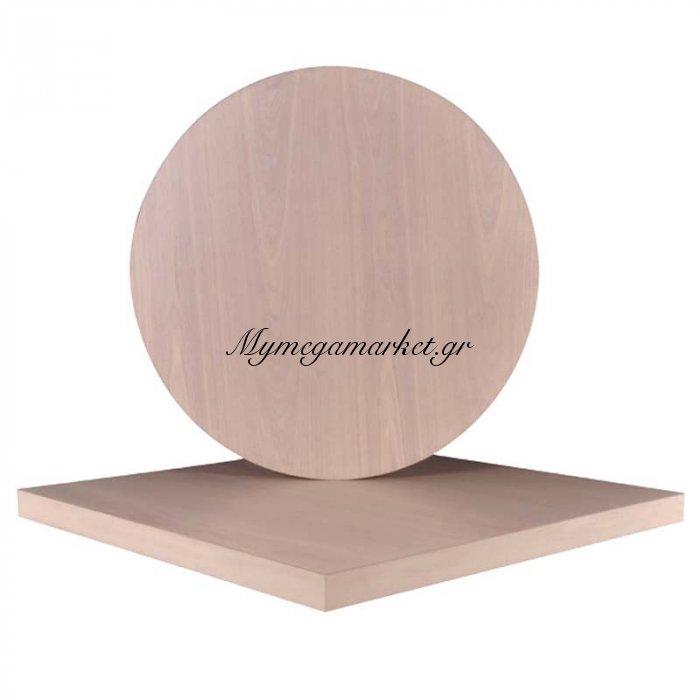 Veneer Καπάκι 60X60/5Cm White Wash | Mymegamarket.gr