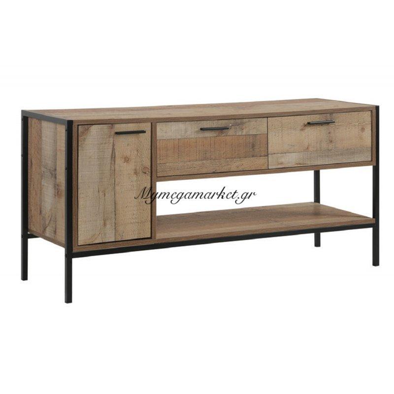 372d3f493a6 Pallet Έπιπλο Tv 2-Συρτ./1-Ντουλ.124X40X60 Antique Oak | Mymegamarket.gr