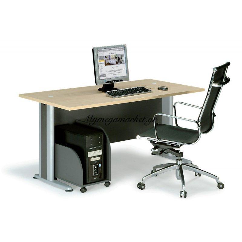 Γραφείο Basic 120X80Cm Dg/beech