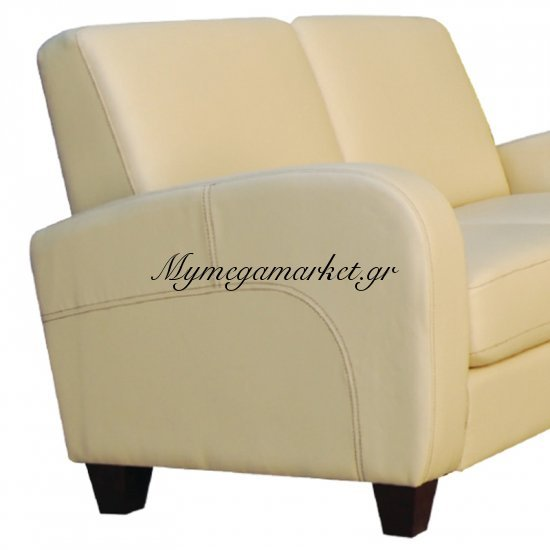 Avero Καναπές 2Θέσ.pu Μπεζ 147X80X83Cm Στην κατηγορία Καναπέδες - Κρεβάτια | Mymegamarket.gr
