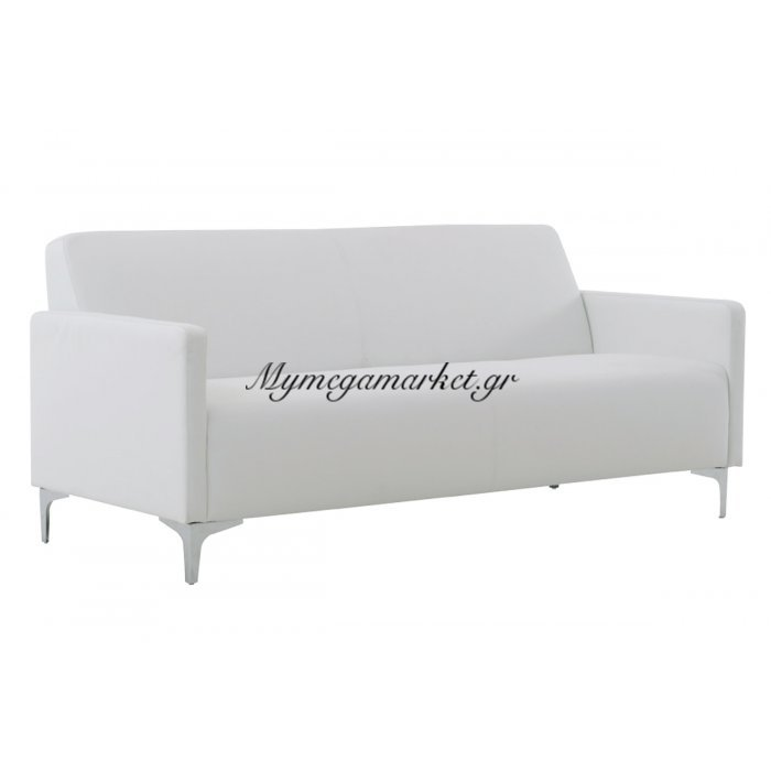 Style Καναπές K/d 3-Θέσιος Pu Άσπρο | Mymegamarket.gr