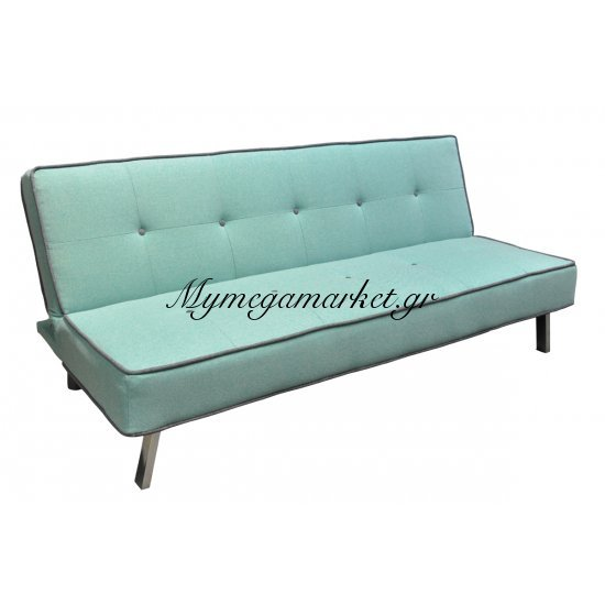 Cord Καναπ.κρεβάτι Ύφασμα Λαχανί 180X83X79Cm Στην κατηγορία Καναπέδες - Κρεβάτια | Mymegamarket.gr