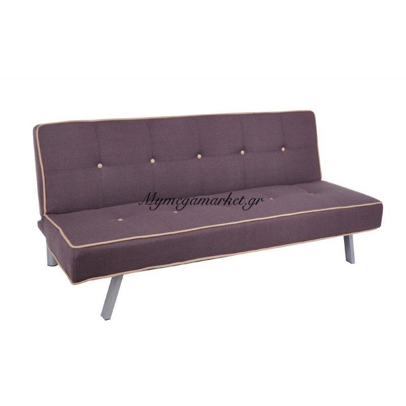 Cord Καναπ.κρεβάτι Ύφασμα Σκ.καφέ 180X83X79Cm Στην κατηγορία Καναπέδες - Κρεβάτια | Mymegamarket.gr