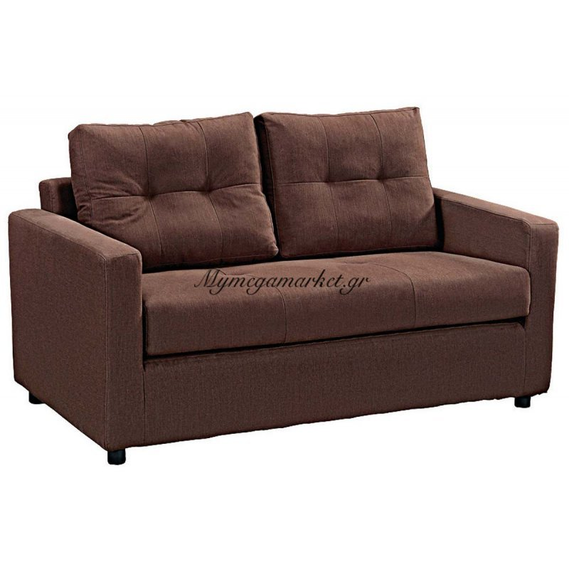 Devon Καναπ.κρεβάτι Ύφασμα Καφέ 150X86X89Cm