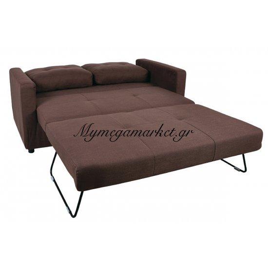 Devon Καναπ.κρεβάτι Ύφασμα Καφέ 150X86X89Cm Στην κατηγορία Καναπέδες - Κρεβάτια | Mymegamarket.gr