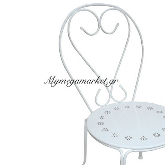 Bistro Καρέκλα Μεταλ.'ασπρη Στην κατηγορία Καρέκλες εσωτερικού χώρου | Mymegamarket.gr