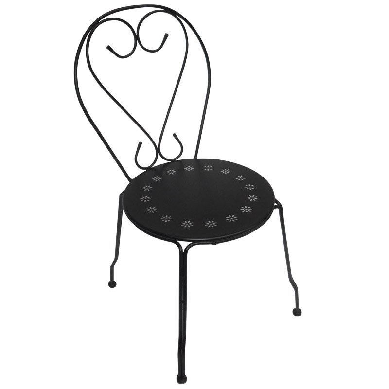Bistro Καρέκλα Μεταλ.μαύρη Στην κατηγορία Καρέκλες εσωτερικού χώρου | Mymegamarket.gr
