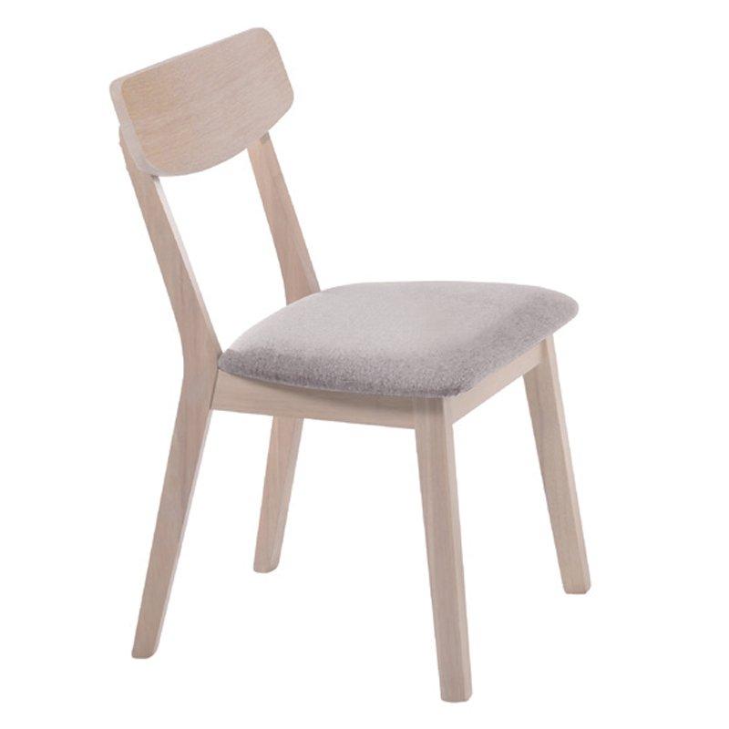 Kαρέκλα Calvin με ύφασμα σε χρώμα sand Στην κατηγορία Καρέκλες εσωτερικού χώρου | Mymegamarket.gr