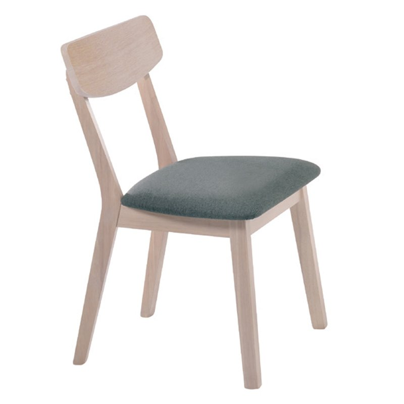 Kαρέκλα Calvin με ύφασμα σε χρώμα σκούρο γκρί Στην κατηγορία Καρέκλες εσωτερικού χώρου | Mymegamarket.gr