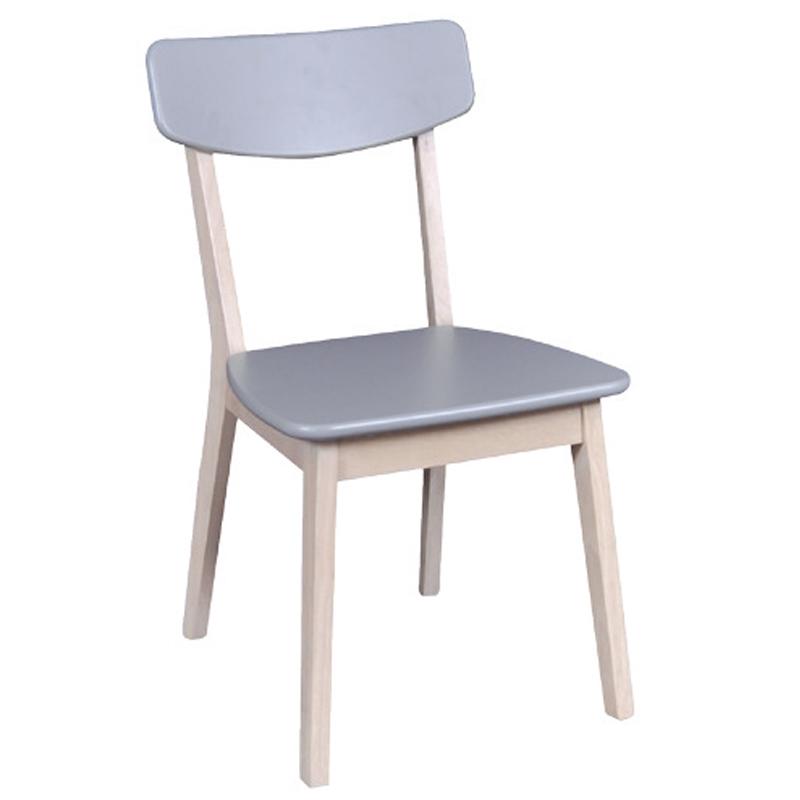 Calvin Καρέκλα White Wash/γκρι Στην κατηγορία Καρέκλες εσωτερικού χώρου | Mymegamarket.gr