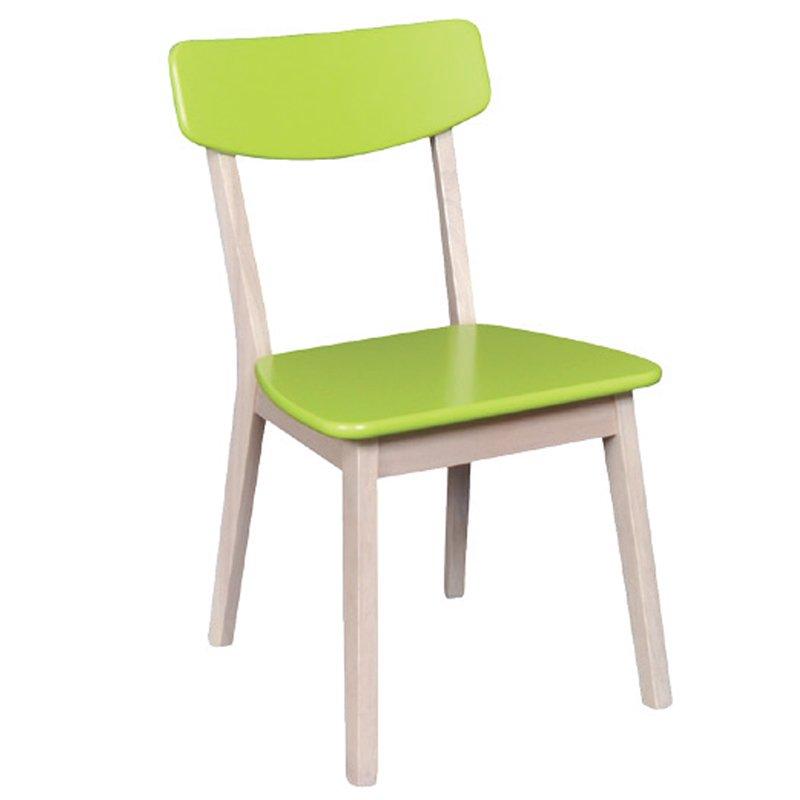Calvin Καρέκλα White Wash/πράσινη Στην κατηγορία Καρέκλες εσωτερικού χώρου | Mymegamarket.gr
