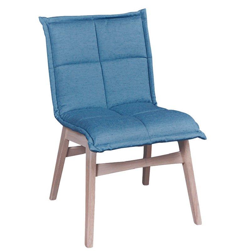Forex Καρέκλα White Wash/ύφασμα Γαλάζιο Στην κατηγορία Καρέκλες εσωτερικού χώρου   Mymegamarket.gr
