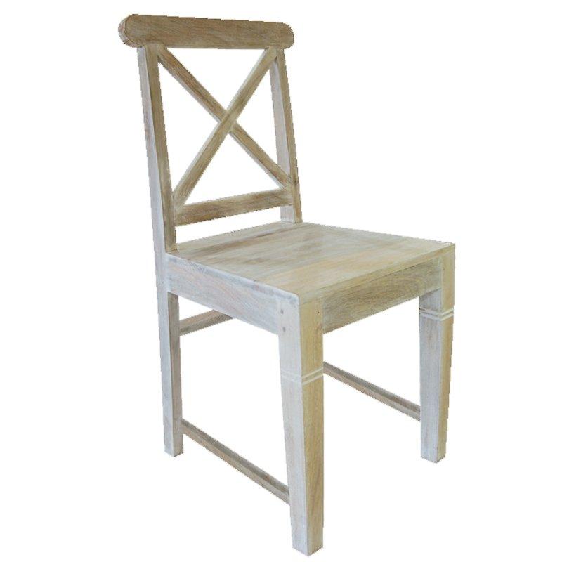 Καρέκλα Maison Kika από ξύλο Ινδονησίας 46x50x94