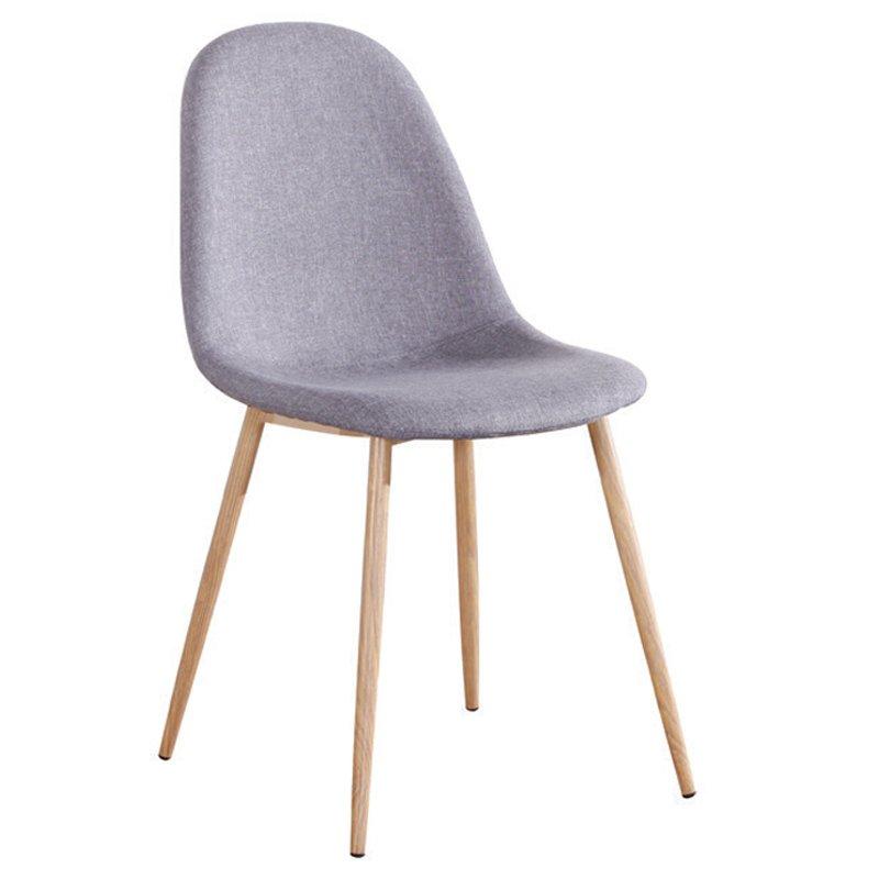 Celina Καρέκλα Μεταλλική Φυσικό, Ύφ.γκρι Στην κατηγορία Καρέκλες εσωτερικού χώρου | Mymegamarket.gr