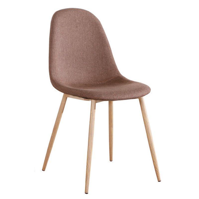 Celina Καρέκλα Μεταλλική Φυσικό, Ύφ.καφέ Στην κατηγορία Καρέκλες εσωτερικού χώρου | Mymegamarket.gr