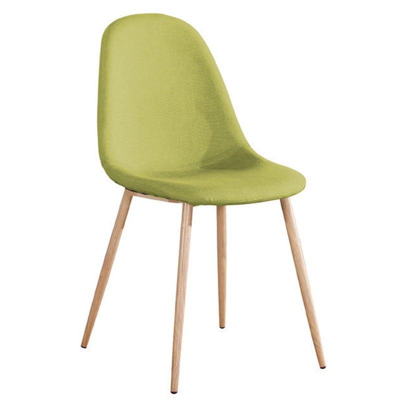 Celina Καρέκλα Μεταλλική Φυσικό, Ύφ.πράσινο Στην κατηγορία Καρέκλες εσωτερικού χώρου | Mymegamarket.gr