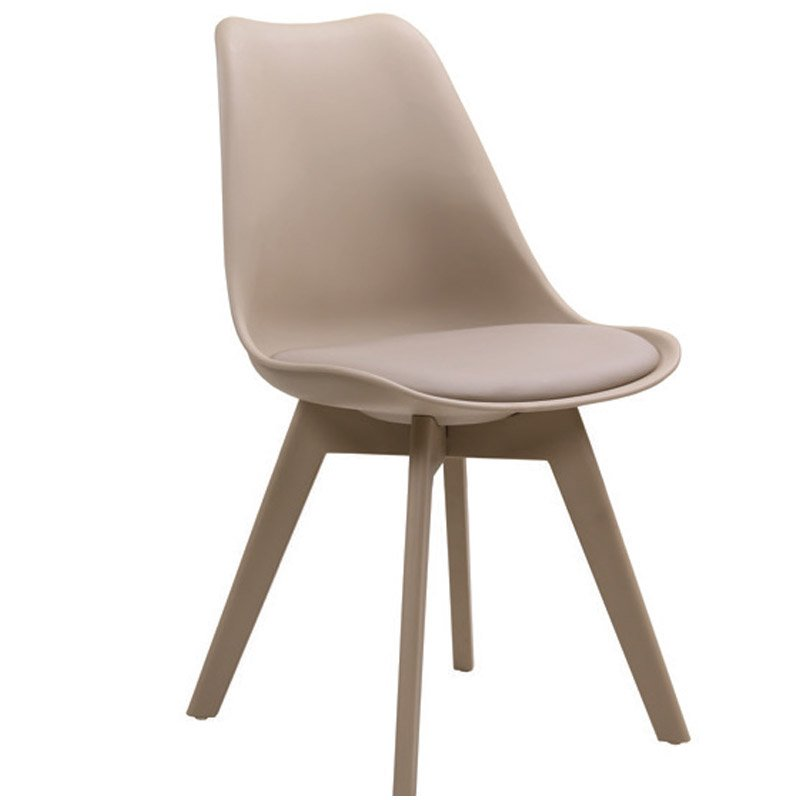 Martin-Ii Καρέκλα Pp Tortora (Πόδι Pp)