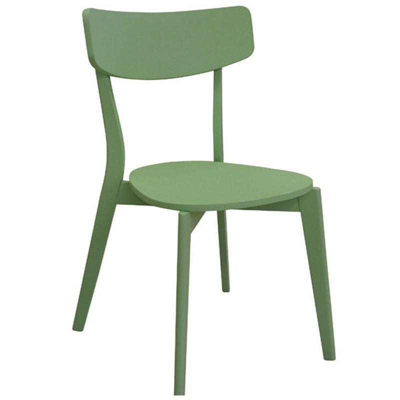 Καρέκλα ξύλινη Memory πράσινη