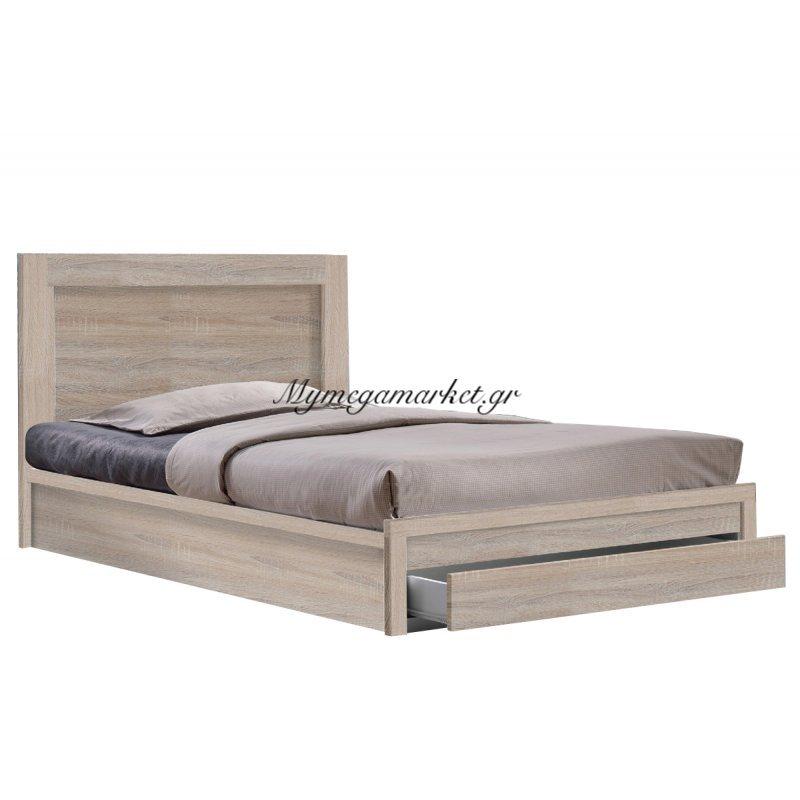 Life Κρεβάτι-Συρτάρι 90X200 Sonoma