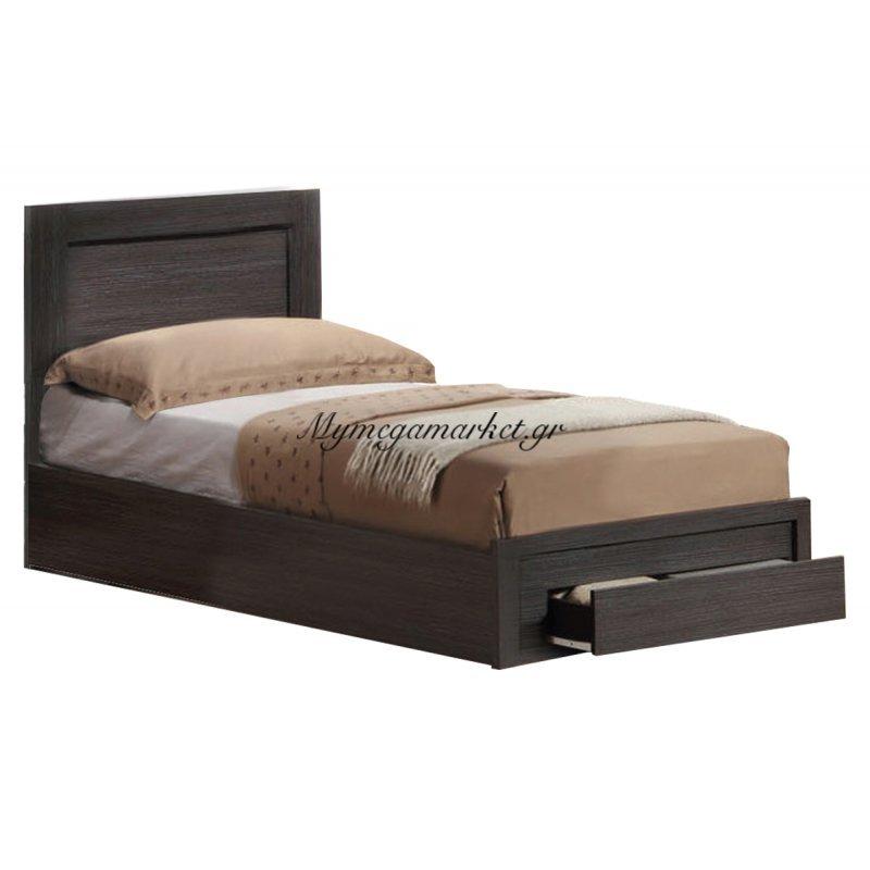 Life Κρεβάτι-Συρτάρι 90X200 Zebrano