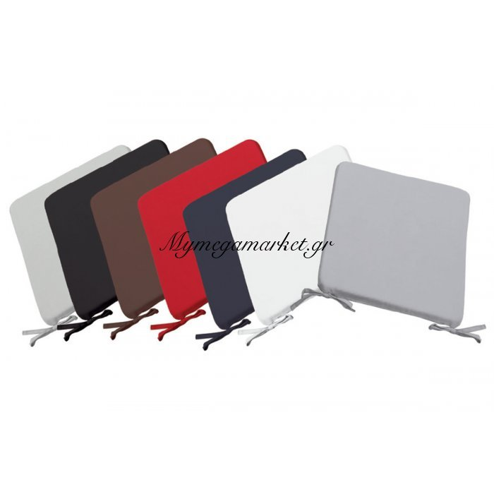 Chair Μαξιλάρι 42X42/3Cm Μαύρο | Mymegamarket.gr