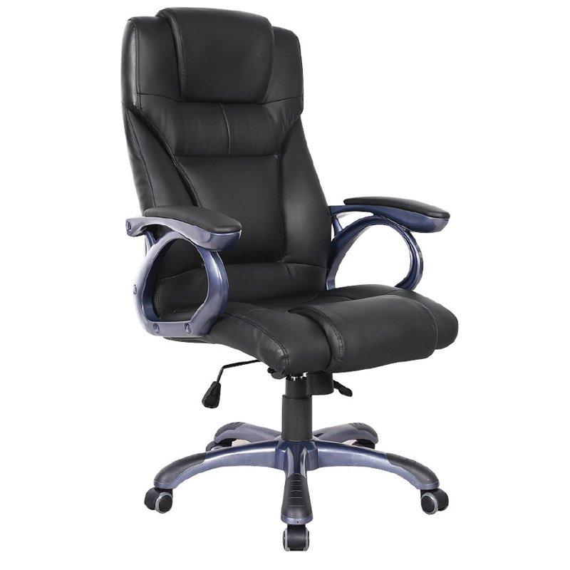 Bf5400 Πολυθρόνα Διευθ.μαύρη Στην κατηγορία Καρέκλες - Πολυθρόνες γραφείου | Mymegamarket.gr