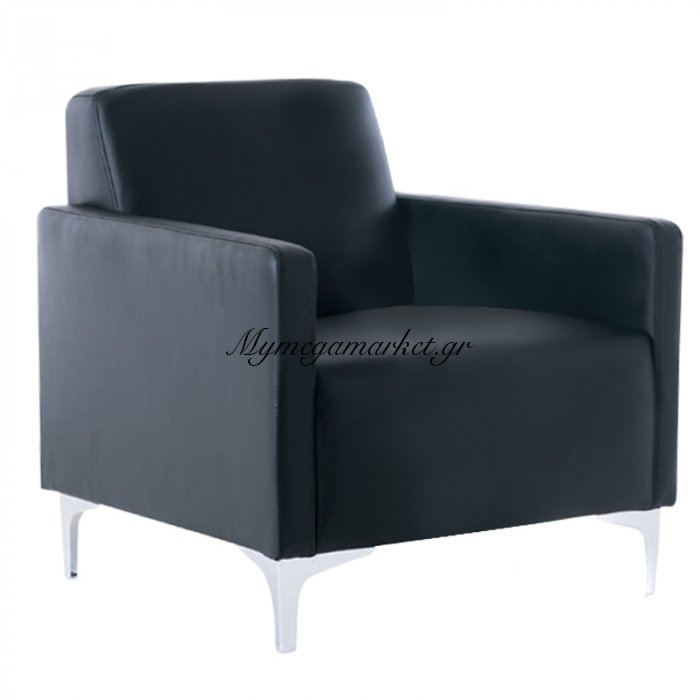 Style Πολυθρόνα K/d Pu Μαύρο | Mymegamarket.gr
