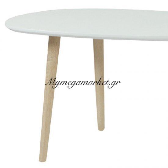 Fine Τραπ.σαλονιού 105X60X49Cm Άσπρο Στην κατηγορία Τραπέζια σαλονιού | Mymegamarket.gr
