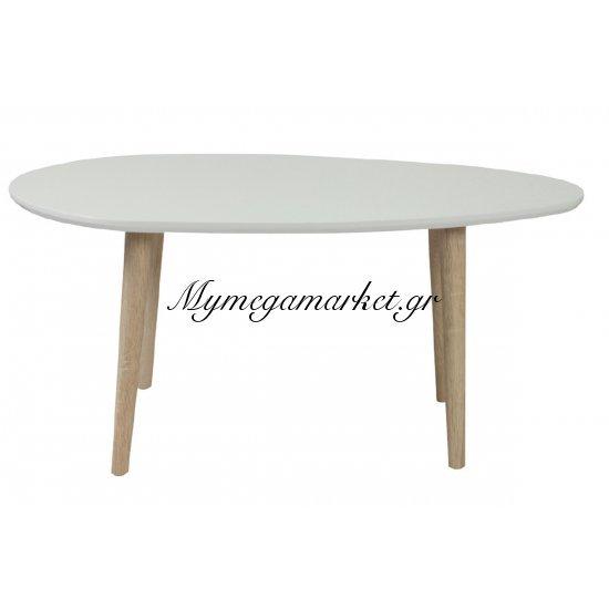 Fine Τραπ.σαλονιού 98X60X38Cm Άσπρο Στην κατηγορία Τραπέζια σαλονιού | Mymegamarket.gr