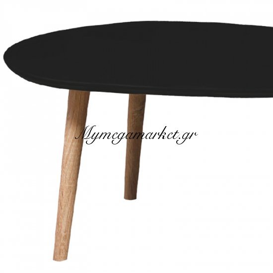 Fine Τραπ.σαλονιού 105X60X49Cm Μαύρο Στην κατηγορία Τραπέζια σαλονιού   Mymegamarket.gr